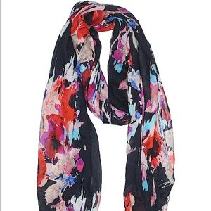 Kate Spade Blurry Floral Scarf